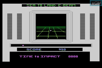 In-game screen of the game Final Legacy on Atari 5200