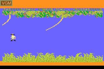 In-game screen of the game Jungle Hunt on Atari 5200