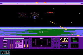 In-game screen of the game Last Starfighter, The on Atari 5200