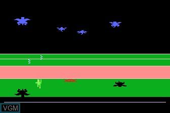 In-game screen of the game Meebzork on Atari 5200