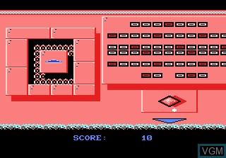 In-game screen of the game Jinks on Atari 7800