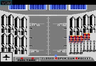 In-game screen of the game Ace of Aces on Atari 7800