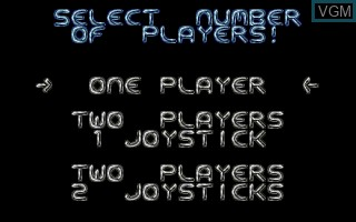 Menu screen of the game Monster Business on Atari ST