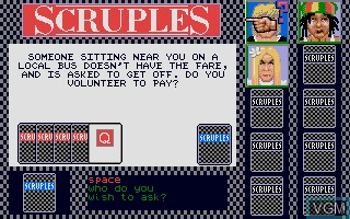 A Question of Scruples - The Computer Edition