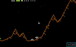 In-game screen of the game Oids on Atari ST