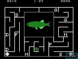 In-game screen of the game Alphabet Zoo on Coleco Industries Colecovision