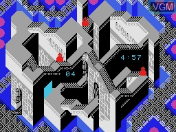 In-game screen of the game Illusions on Coleco Industries Colecovision