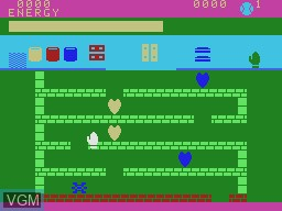 In-game screen of the game Logic Levels on Coleco Industries Colecovision