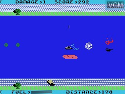 In-game screen of the game Aquattack on Coleco Industries Colecovision