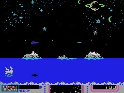 In-game screen of the game Nova Blast on Coleco Industries Colecovision