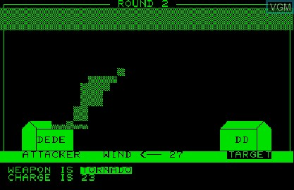 In-game screen of the game Cursor 21 - Ouranos! on Commodore PET