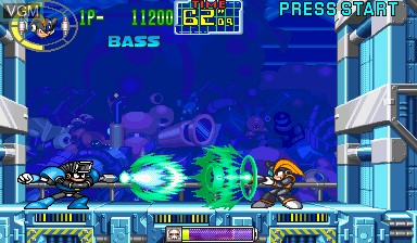 In-game screen of the game Mega Man - The Power Battle on Capcom CPS-I