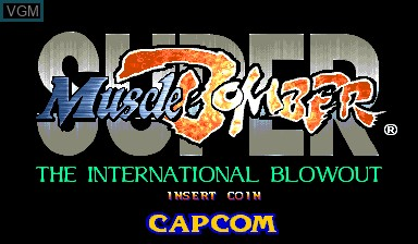 Ring Of Destruction Slammasters Ii For Capcom Cps Ii The Video Games Museum
