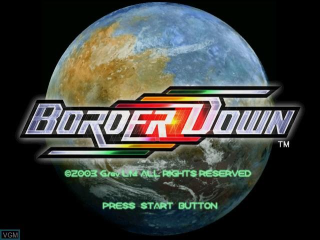 border down dreamcast