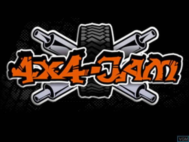 Title screen of the game 4x4-Jam on Sega Dreamcast