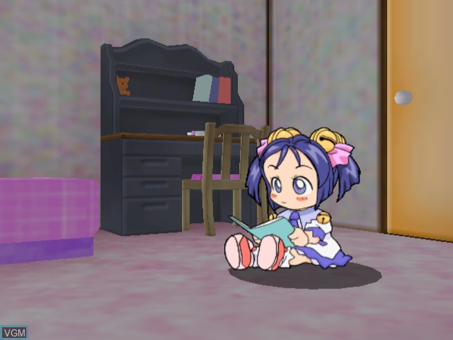 Menu screen of the game Tako no Marine on Sega Dreamcast