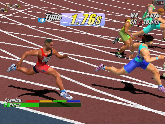 Virtua Athlete 2000