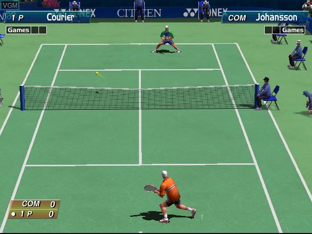 Virtua Tennis - Sega Professional Tennis