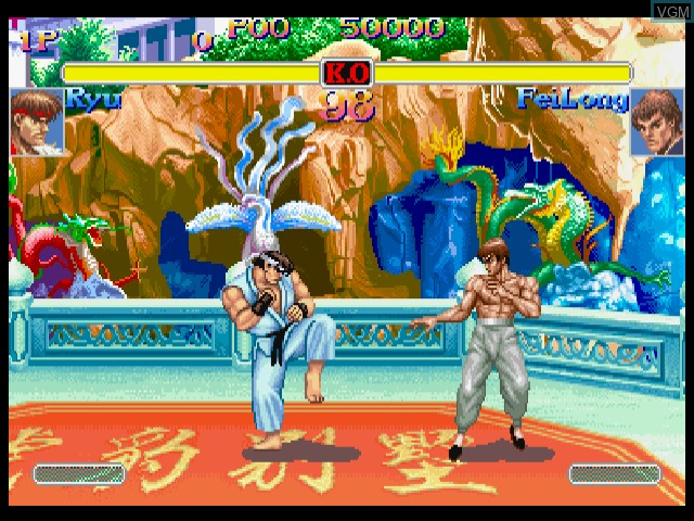Super Street Fighter IIX for Matching Service - Grand Master Challenge