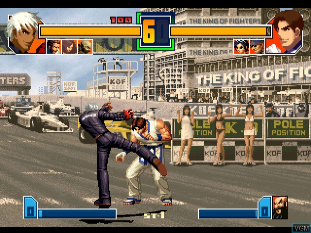 King of Fighters 2001, The