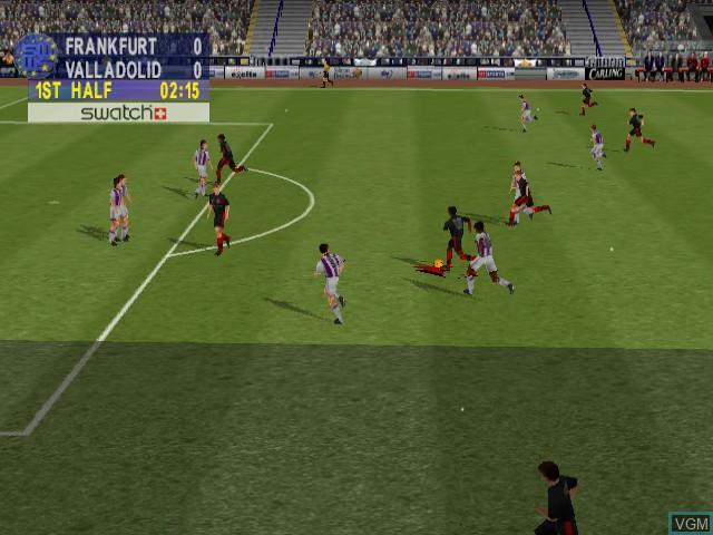 Sega Worldwide Soccer 2000 - Euro Edition