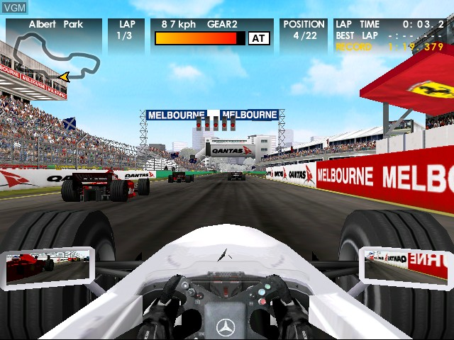 F1 World Grand Prix for Dreamcast