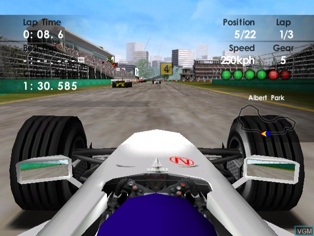 F1 World Grand Prix II for Dreamcast
