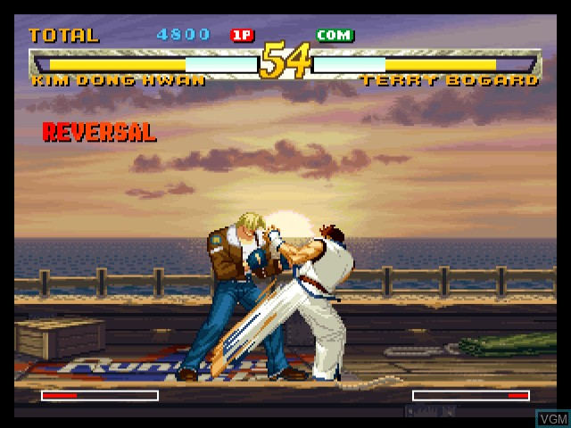 Fatal Fury - Mark of the Wolves