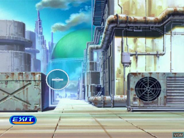 In-game screen of the game Ao no 6-gou - Saigetsu Hito o Matazu - Time and Tide on Sega Dreamcast