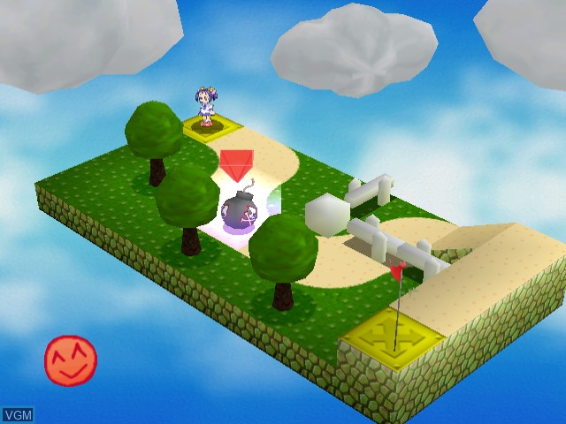 In-game screen of the game Tako no Marine on Sega Dreamcast