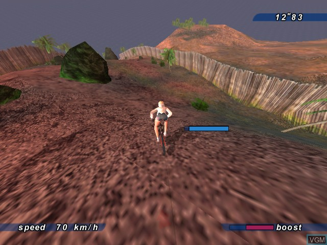 In-game screen of the game Sega Extreme Sports on Sega Dreamcast