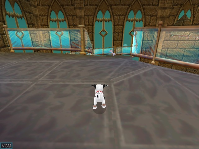 In-game screen of the game 102 Dalmatians - Puppies to the Rescue on Sega Dreamcast