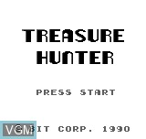 Title screen of the game Treasure Hunter on Bit Corporation Gamate