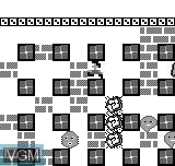 Menu screen of the game Bomb Blaster on Bit Corporation Gamate
