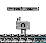 Menu screen of the game Fantasy Travel on Bit Corporation Gamate