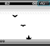 In-game screen of the game Cosmic Fighter on Bit Corporation Gamate