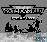 Title screen of the game Water World on Nintendo Game Boy