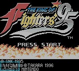 Title screen of the game King of Fighters '95, The on Nintendo Game Boy