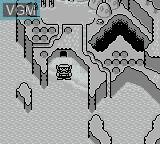 Menu screen of the game Wario Land - Super Mario Land 3 on Nintendo Game Boy