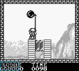 In-game screen of the game Pang on Nintendo Game Boy