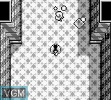 In-game screen of the game Penta Dragon on Nintendo Game Boy