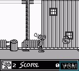 In-game screen of the game Adventures of Rocky and Bullwinkle, The on Nintendo Game Boy