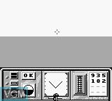 In-game screen of the game Turn and Burn on Nintendo Game Boy