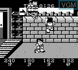 In-game screen of the game Undoukai on Nintendo Game Boy