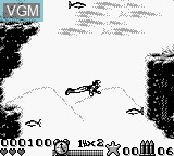 In-game screen of the game Water World on Nintendo Game Boy