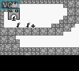 In-game screen of the game Ant Soldiers on Nintendo Game Boy