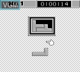 In-game screen of the game Daedalean Opus on Nintendo Game Boy