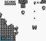 In-game screen of the game Dan Laser on Nintendo Game Boy
