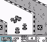 In-game screen of the game Grand Prix on Nintendo Game Boy