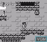 In-game screen of the game Kid Icarus - Of Myths and Monsters on Nintendo Game Boy